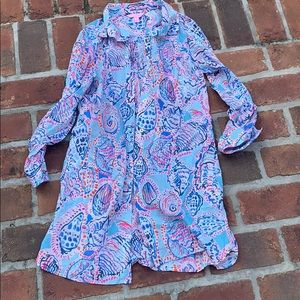 Lilly Pulitzer cover up size small